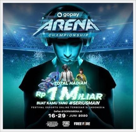 Lomba Game Online 2020 Gopay Arena Championship Berhadiah Total 1 M Pemburukuis Com